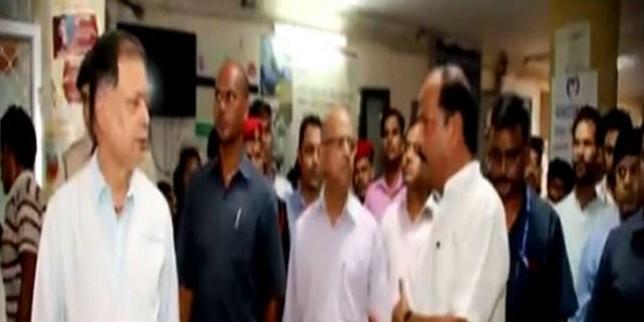 रघुवर दास ने रिम्स का किया निरीक्षण, व्यवस्था सुधारने का दिया आदेश