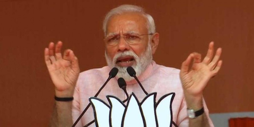 'Have come here to give you an account of the work done in 5 years,' says PMModi