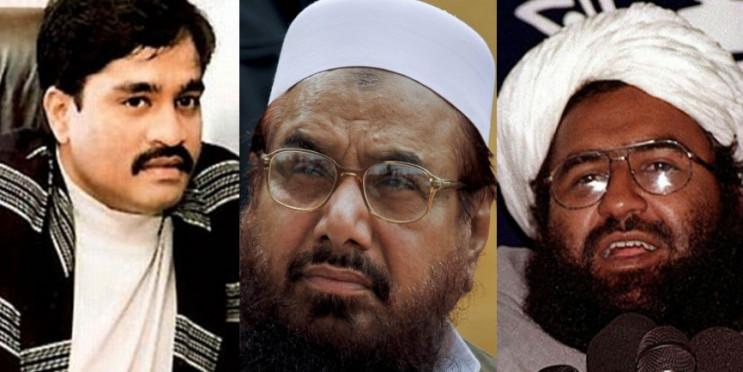 UAPA कानून के तहत मसूद अजहर, दाऊद इब्राहिम और हाफिज सईद आतंकी घोषित