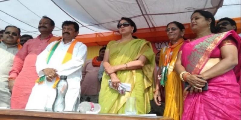 मोदी के 56 इंच सीने के आगे पाकिस्तान ने टेक दिए घुटने, देश में चल रही उनकी लहरः हेमा मालिनी