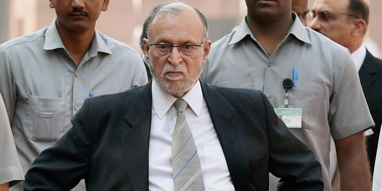 Take action on tainted officials: Delhi L-G Anil Baijal