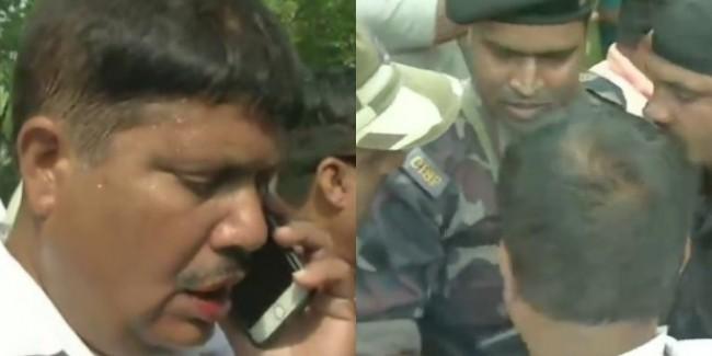 तृणमूल कांग्रेस और भाजपा कार्यकर्ताओं में हुई झड़प, BJP प्रत्याशी अर्जुन सिंह पर हमला