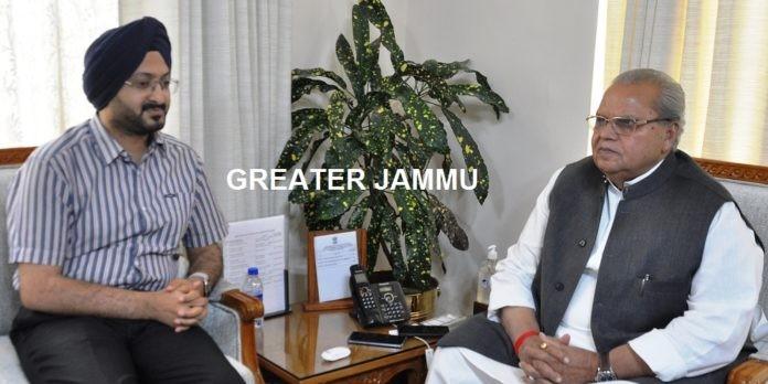 CEO SMVDSB Meets Governor
