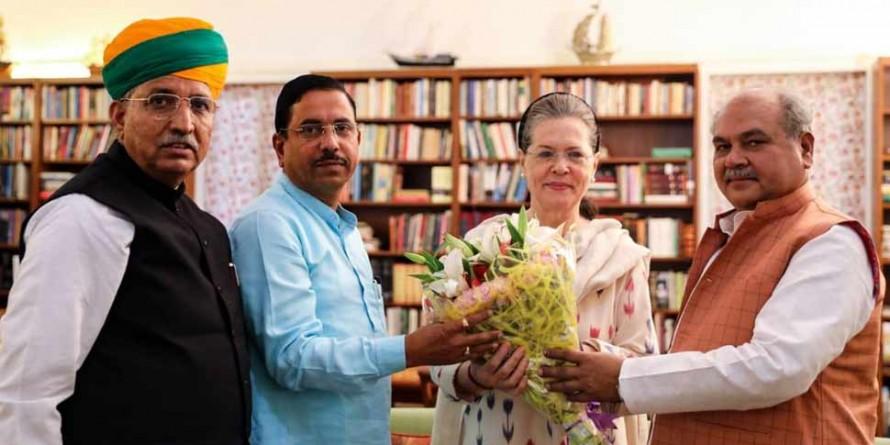 सोनिया गांधी से मिले मोदी सरकार के मंत्री, इसी सत्र में ट्रिपल तलाक बिल को पास कराना चाहती है सरकार