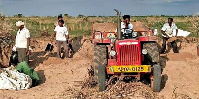 Sand shortage hits Guntur realty sector