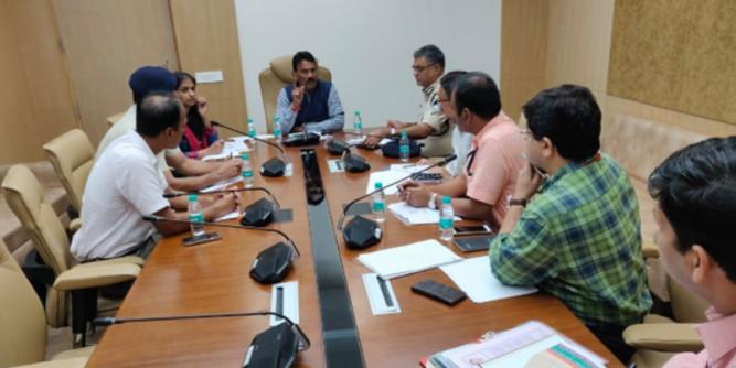 स्वास्थ्य मंत्री ने अफसरों की ली बैठक, अब मिलावटखोरी पर स्पेशल टीम करेगी छापामार कार्रवाई