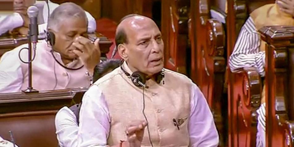 कर्नाटक मामले पर बोले राजनाथ- 'उसमें हमारा हाथ नहीं, इस्तीफों की शुरुआत राहुल ने की'