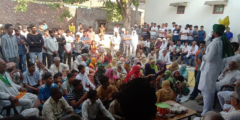 हरियाणा को आरक्षण के नाम पर जलवाने वाले हुड्डा को वोट मांगने का कोई अधिकार नहीं- दिग्विजय चौटाला