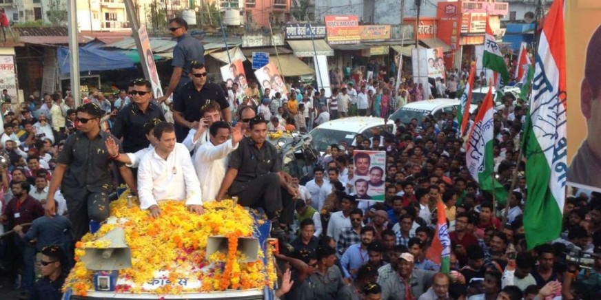 राहुल गांधी का रोड शो आज, बदला रहेगा कदमकुआं का ट्रैफिक रूट