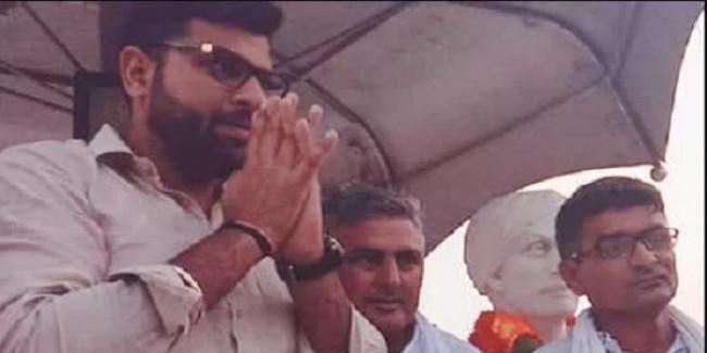 जजपा के नेता दिग्विजय चौटाला ने कहा, हरियाणा के सीएम अहंकार के नशे में चूर हैं