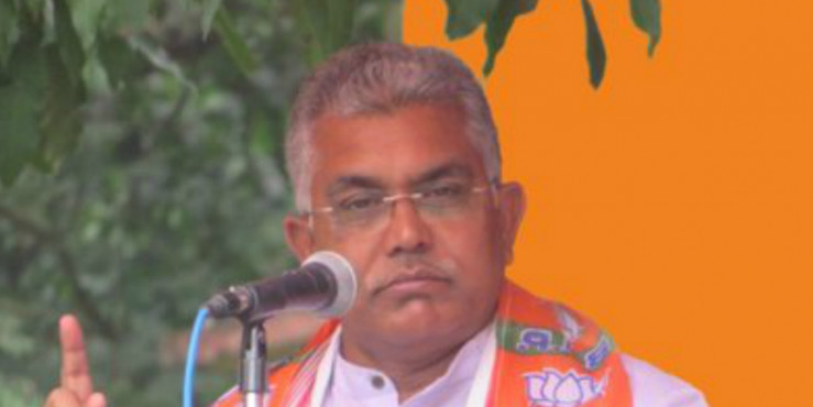 'When There's Parivartan in Bengal, There'll Be No Trace of Your Body': BJP's Dilip Ghosh Warns Cops