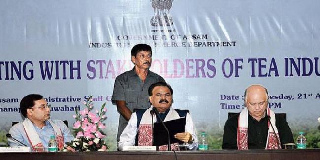 Concern over tea industry in Assam