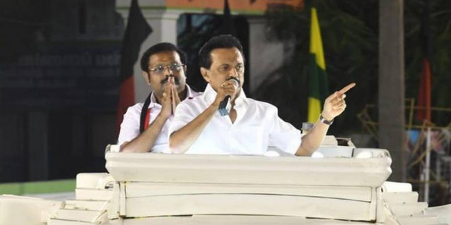 Stalin lashes out at law and order situation in State