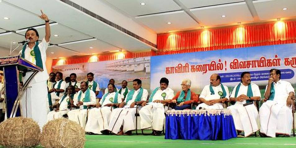 Development should not harm people, says DMK leader