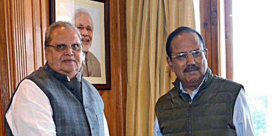 Satya Pal Malik takes stock of situation in Jammu & Kashmir