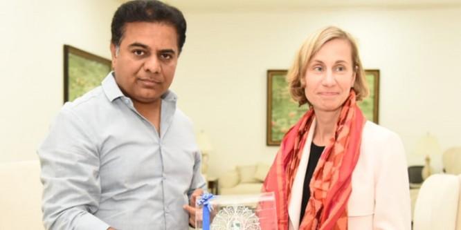 Canada Consul General meets KTR