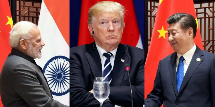 China Threatens India For Favoring Us Donald Trump