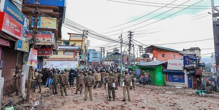 Shillong's Punjabi Lane Residents Get Notice to Prove Legality