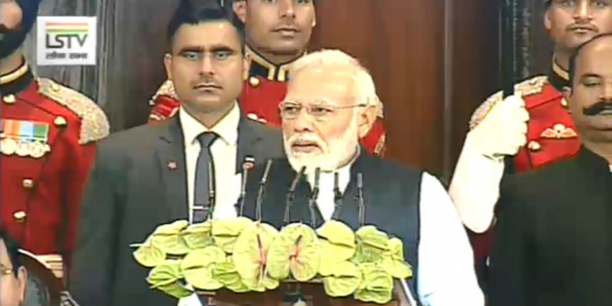 PM Modi Addressed a Joint Session of Parliament on 70th Constitution Day
