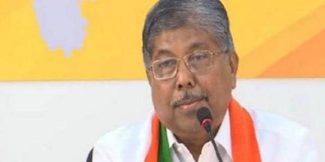 30 अक्टूबर को विधायक दल की बैठक में चुना जाएगा उनका नेता- चंद्रकांत पाटिल