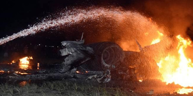 Sukhoi fighter jet crashes in paddy field Assam, pilots eject safely