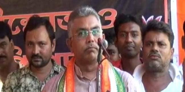 BJP Urges Action Against Assault On Dilip Ghosh, Himanta Biswa Sarma