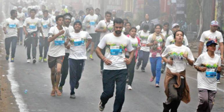 करगिल शहीदों की याद में रन फॉर विक्ट्री, सुबह-सुबह भागी दिल्ली