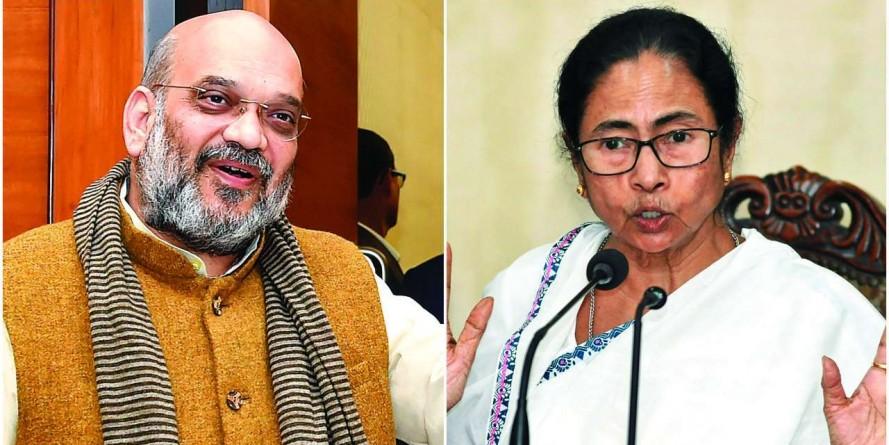 Mamata Banerjee, Amit Shah engage in verbal duel