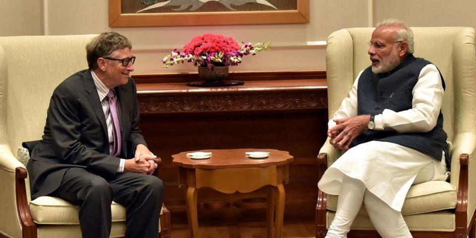 स्वच्छ भारत अभियान के लिए नरेंद्र मोदी को 'ग्लोबल गोलकीपर' पुरस्कार