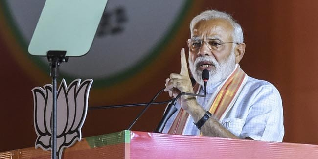 """""""Paint Ugly Picture Of Me, Won't File Complaint,"""" PM Jabs Mamata Banerjee"""