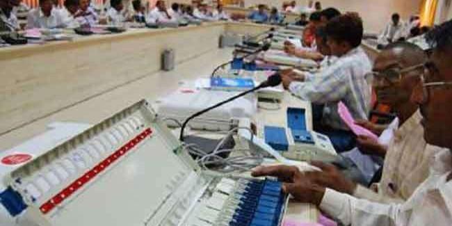 लोकसभा चुनावः मतगणना की तैयारी शुरू, 12 सौ कार्मिकों की ड्यूटी