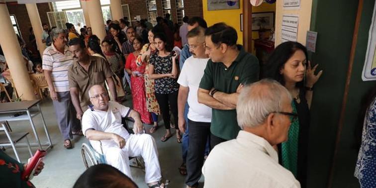 63 per cent polling recorded in Maharashtra, 61 Per Cent in Haryana