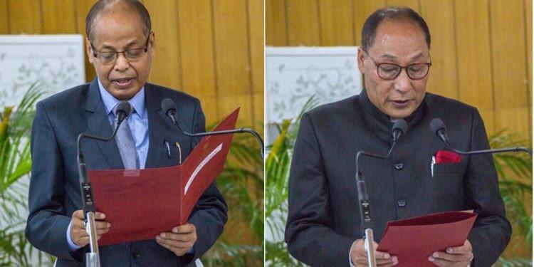 P.K. Saikia takes oath as Arunachal Pradesh Lokayukta chairperson
