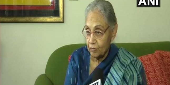 राहुल गांधी को इस्तीफा नहीं देने के लिए मनाएंगी दिल्ली की पूर्व सीएम शीला दीक्षित