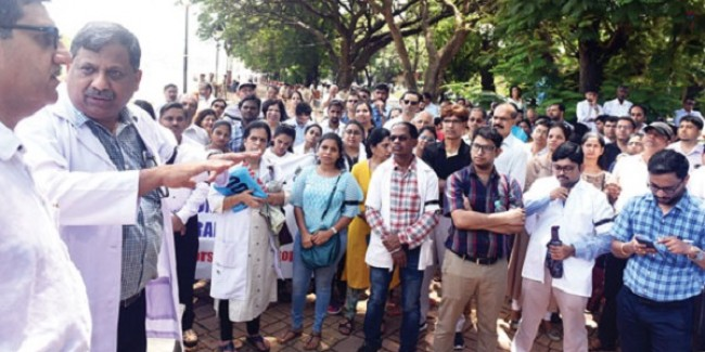 Goa doctors support all-India strike