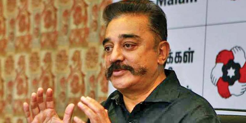 'India's first terrorist was a Hindu, his name was Nathuram Godse', says Kamal Haasan