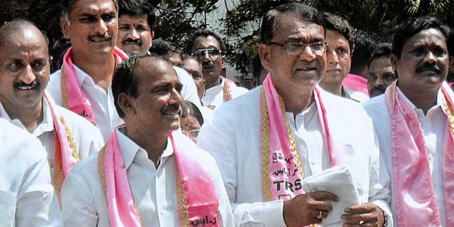 TRS gets richer by Rs  20 41 cr  at party plenary