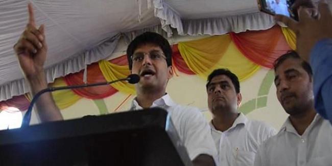 रेवाड़ी में हुए विकास कार्यों पर सरकार श्वेत पत्र जारी करे: दीपेन्द्र हुड्डा