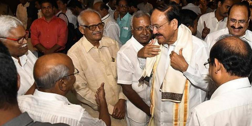Keep politics out of Article 370 issue, says Venkaiah Naidu