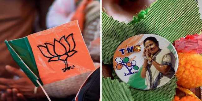 BJP, TMC Clash In West Bengal's Bangaon Over Trust Vote in Civic Body, Prohibitive Orders Clamped