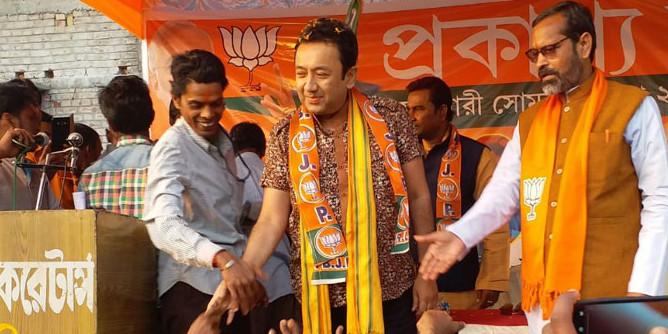 Actor-turned-BJP leader Joy Banerjee targets former Kolkata Mayor's close associate with sexist comment