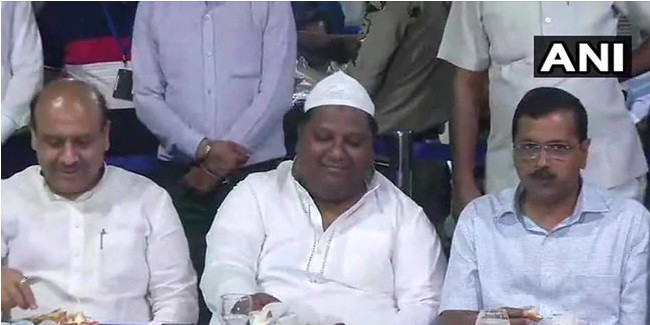 Arvind Kejriwal Hosts Iftar Party, BJP Leaders Present, Congress Absent