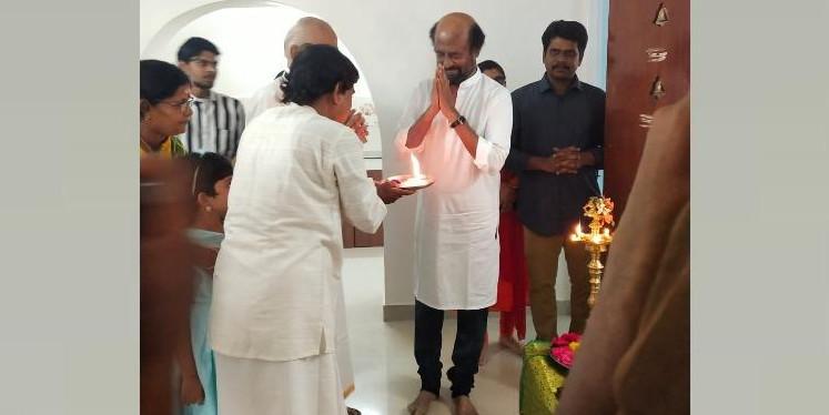 Rajinikanth keeps his promise, buys a house for veteran storywriter Kalaignanam