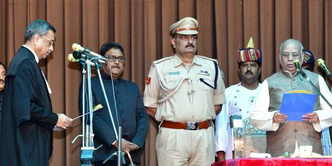 Lalji Tandon Takes Oath As Governor Of Madhya Pradesh