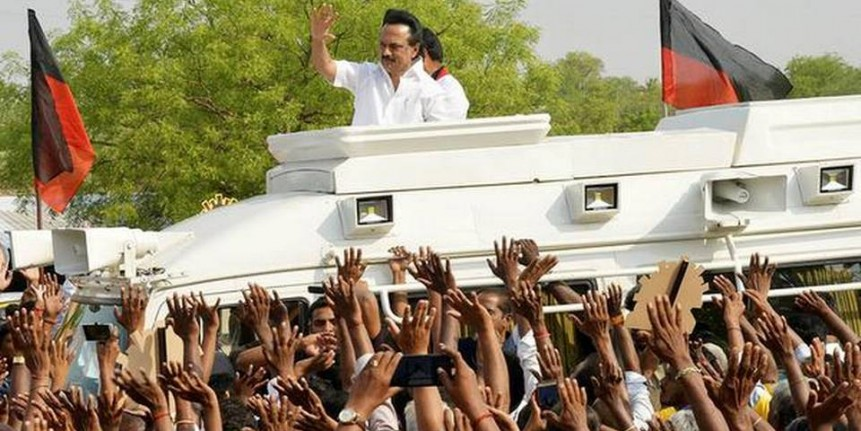 AIADMK government will fall after polls, says Stalin