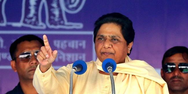कांग्रेस ने डरा-धमकाकर BSP का प्रत्याशी बैठा दिया, मायावती ने लगाया गंभीर आरोप