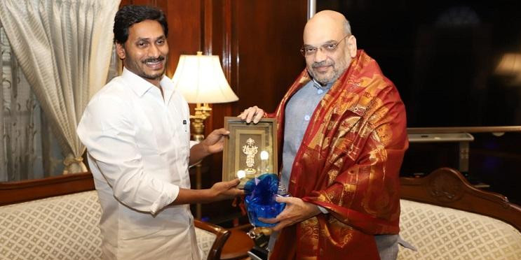 Andhra CM Jagan seeks funds from Centre, meets Amit Shah