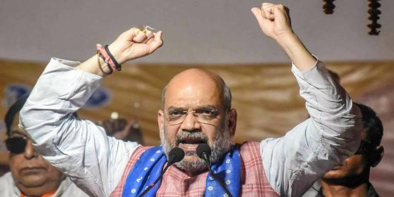 भारत की जीत को शाह ने बताया सर्जिकल स्ट्राइक