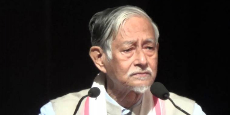 Protest against citizenship Bill: Assam academic Hiren Gohain, two others booked for sedition