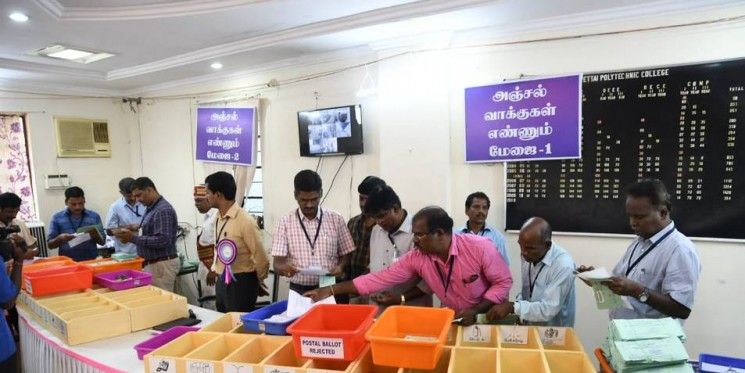 DMK-led alliance takes early lead in Lok Sabha tally
